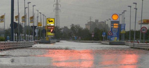 Наводнение на севере Италии