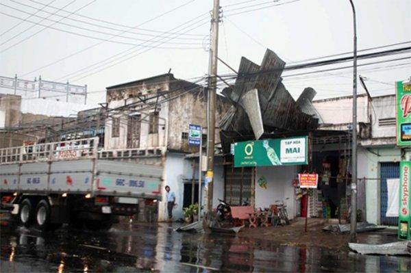 Южный Вьетнам пострадал от тропического циклона