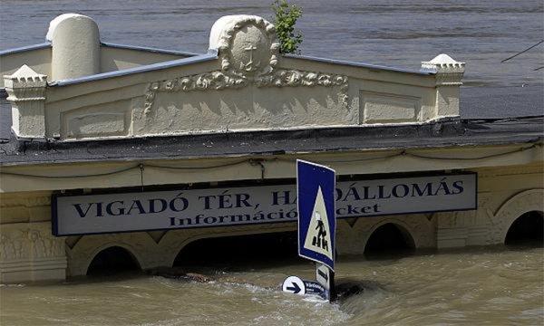 Европа. Прогнозы синоптиков неутешительны: дождь