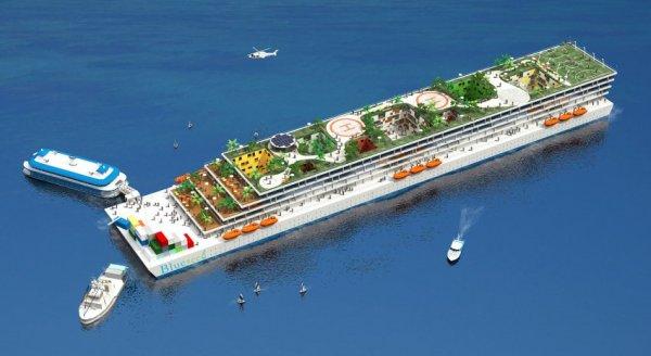 """У побережья Калифорнии построят """"ковчег"""" для иностранных бизнесменов"""