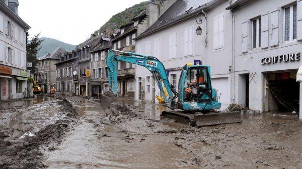 Юго-запад Франции затопило