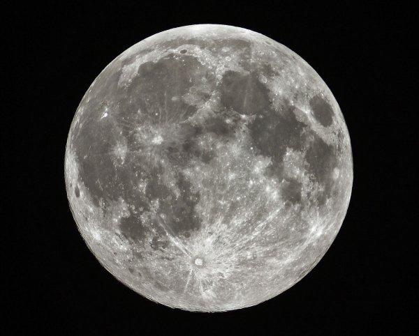 Представление Супер-Луны состоялось