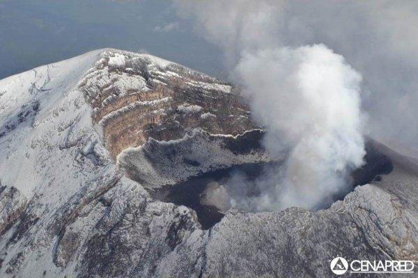 Мексиканский вулкан Попокатепетль не перестает извергаться