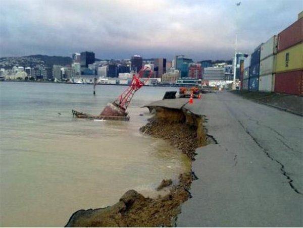 Веллингтон потрясло землетрясение магнитудой 6,5