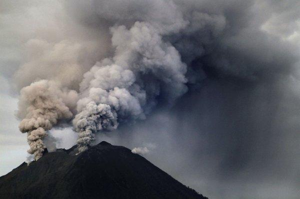 Извержения вулканов-2013