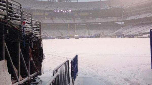 Снежная буря вновь атакует северо-восток США