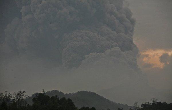 Извержение Келуда стало самым масштабным извержением на планете с 2010 года