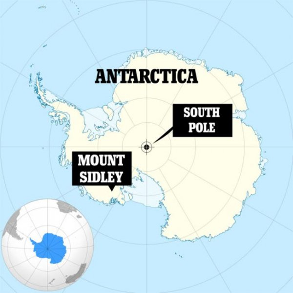 Найденный под Антарктидой вулкан может начать извержение в любой момент