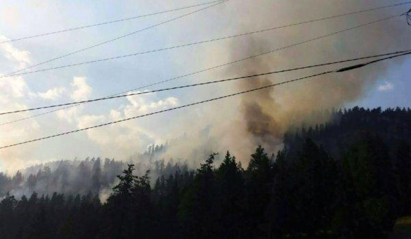 Пожары в Британской Колумбии и Альберте приобрели невероятный масштаб