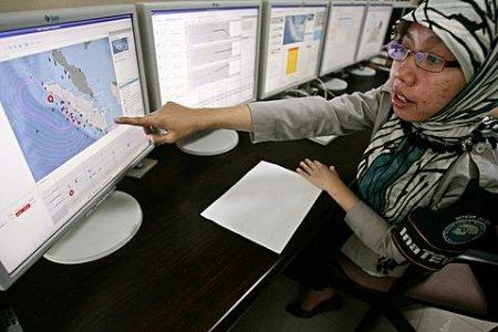 Испытана система оповещения цунами в Индийском океане