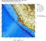 Землетрясение у центральных берегов Перу