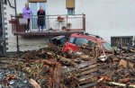 Сильные наводнения в северной Италии