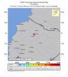 В столице Эквадора Кито произошло землетрясение силой 4